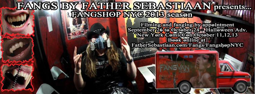 Halloween Adventure NYC | Father Sebastiaan
