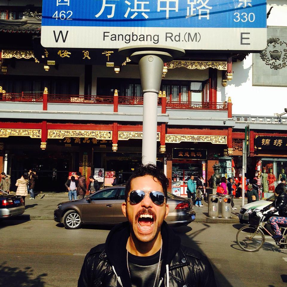 Jason on FangBang Rd.