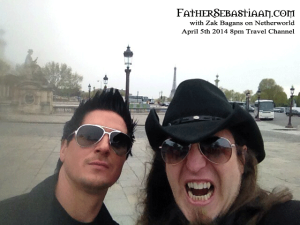 Fanged Zak Bagans with Father on Netherworld